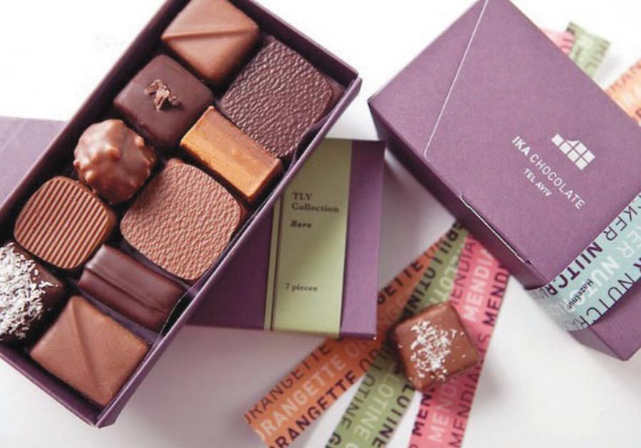 Truffles from Ika Chocolate