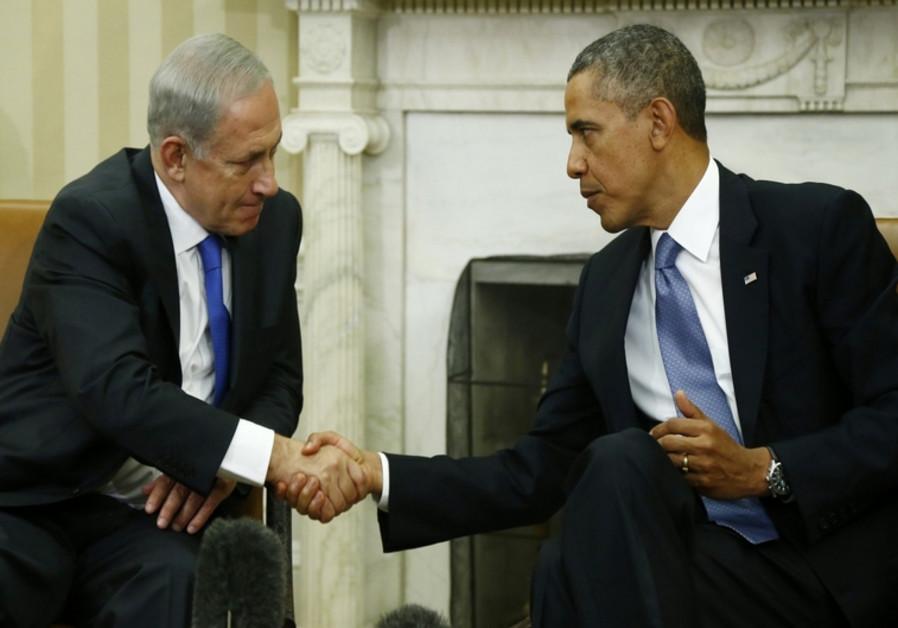 Netanyahou et Obama