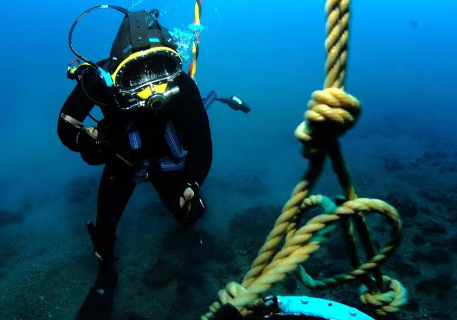 IDF underwater mine clearance unit