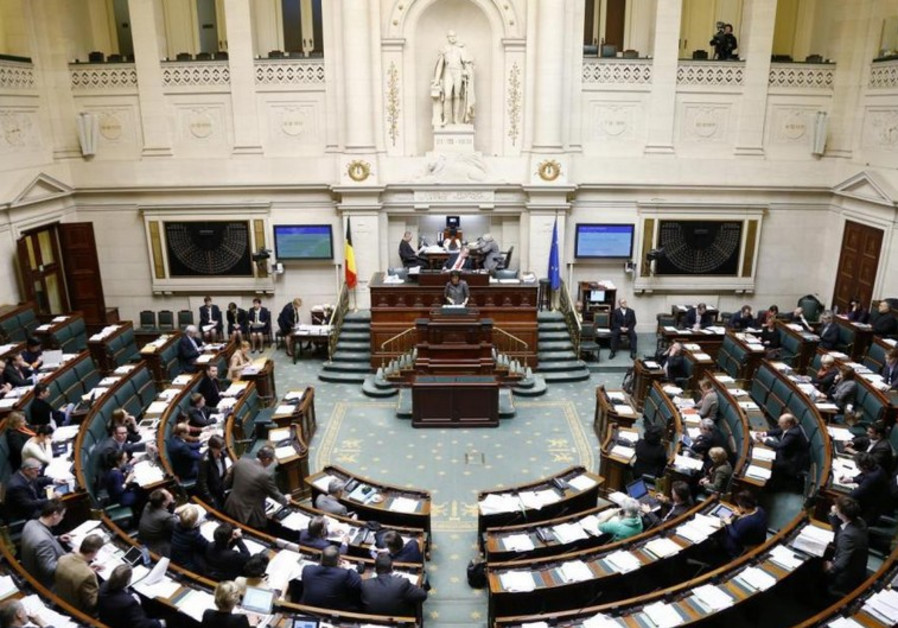 belgian parliament brussels