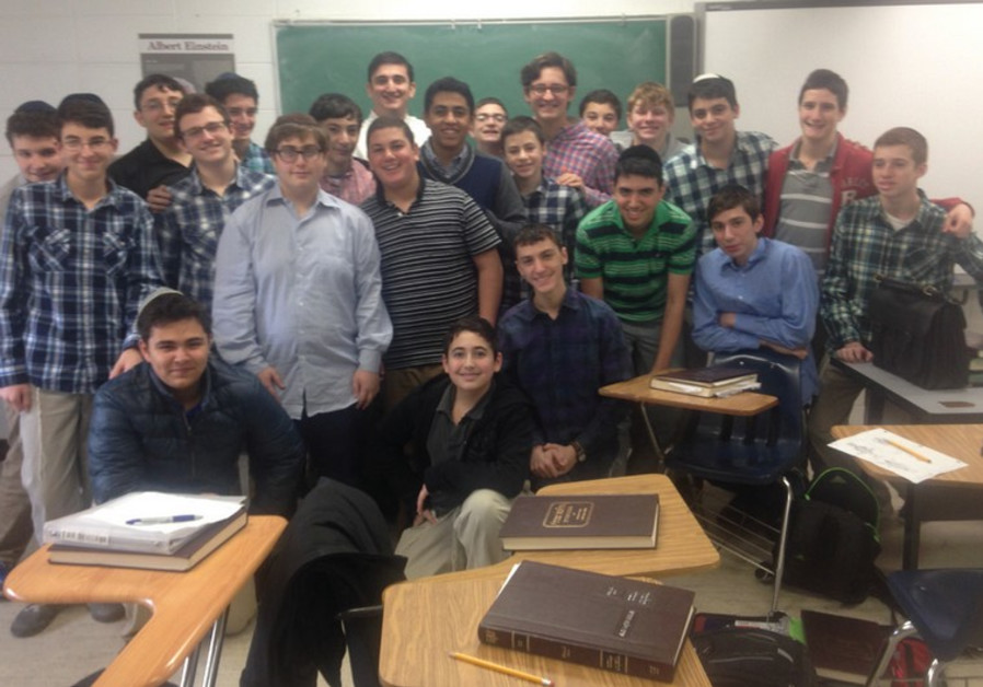 The Long Island 10th-grade students who are raising money for the Har Nof terrorist attack victims