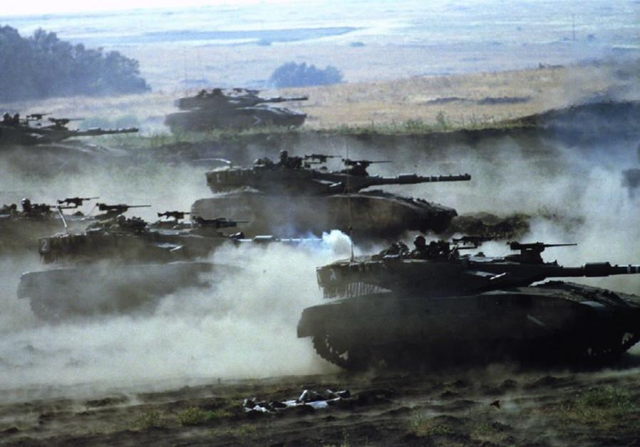 Merkava tanks