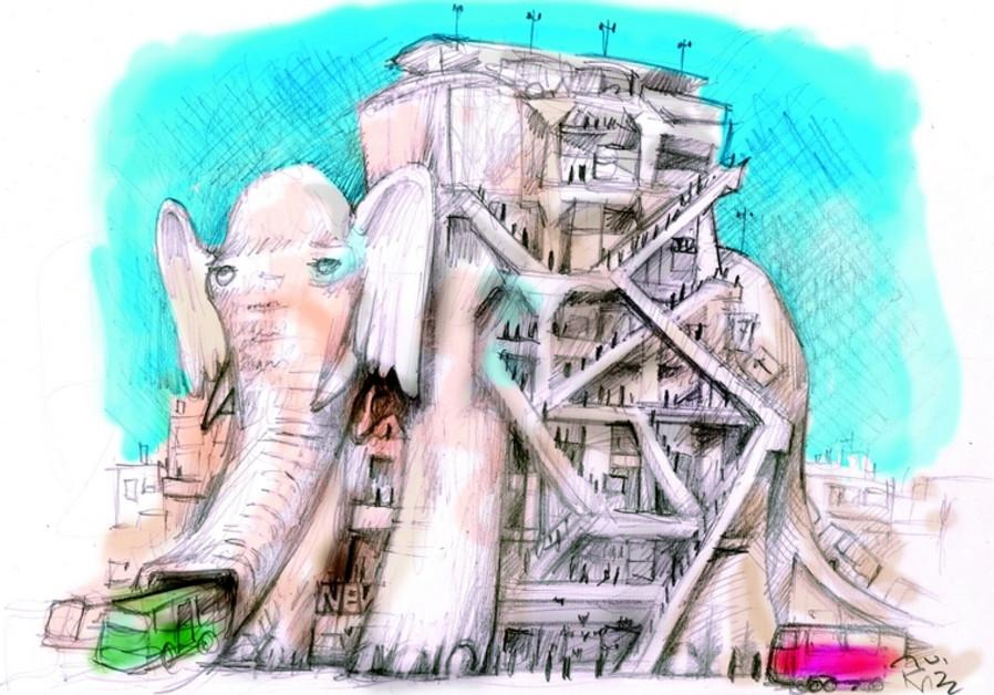 L'éléphant blanc de Tel-Aviv