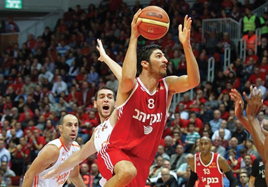 Hapoel Jerusalem forward Lior Eliyahu