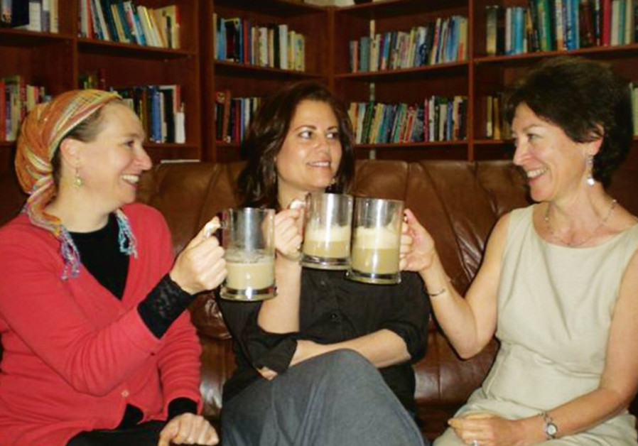Three Ladies, Three Lattes Book