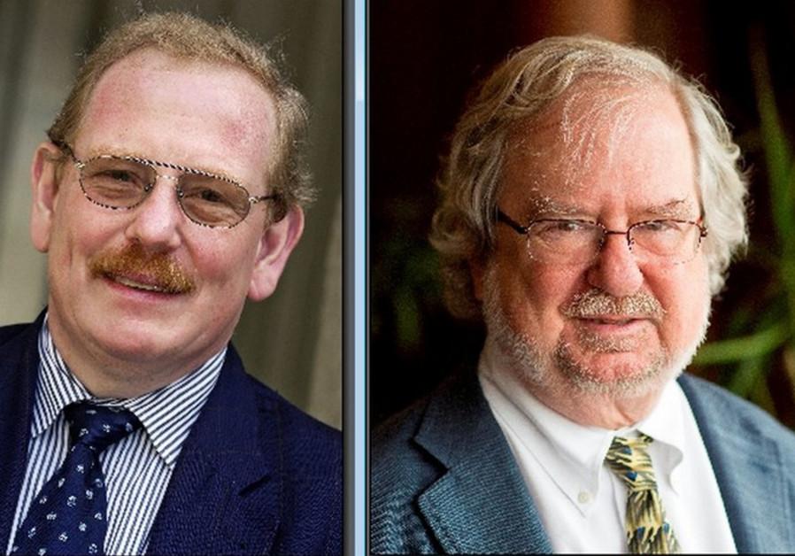 Prof. James P. Allison and Prof. Dr. Reinhard Genzel.