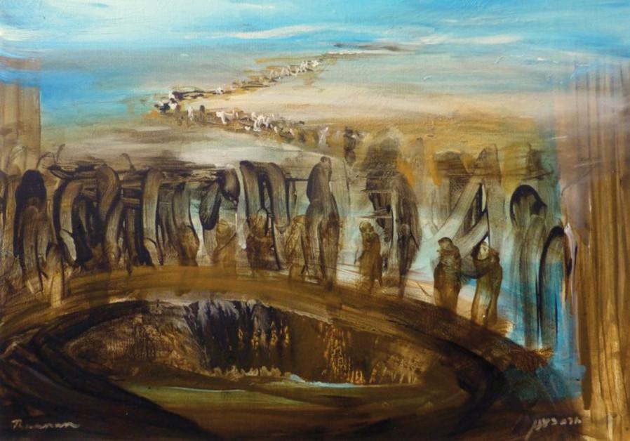 Painting Yoram Raanan