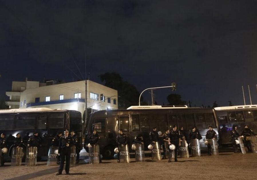 Israeli embassy in Athens