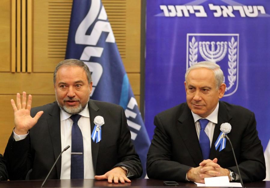 Liberman Netanyahu