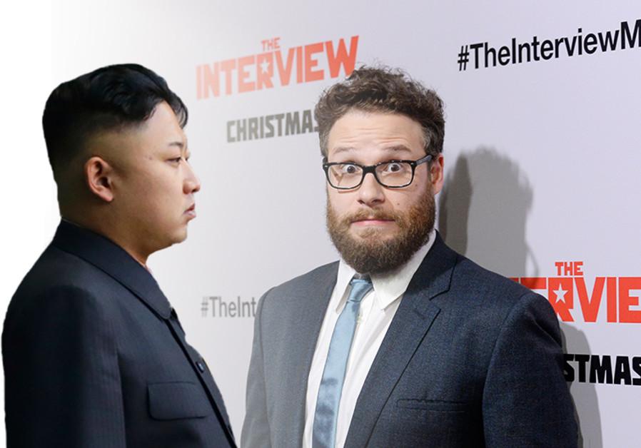Kim Jong-un and Seth Rogen