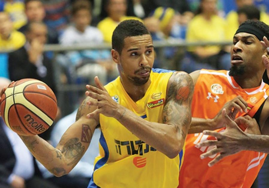 Maccabi Tel Aviv forward Sylven Landesberg