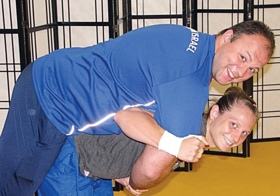 The Israeli judoka Alice Schlesinger