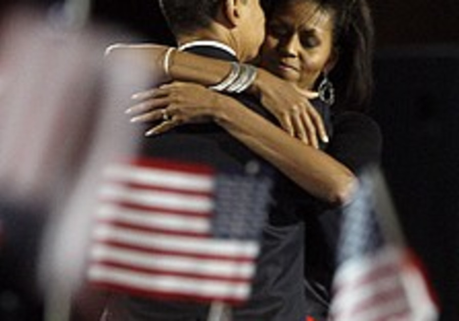 Obama wins election, makes history