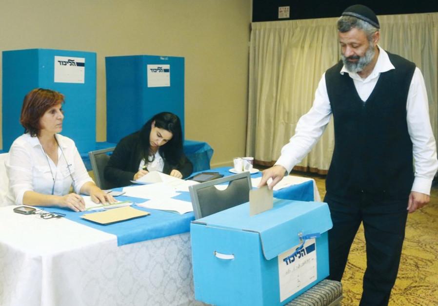 Likud's internal elections