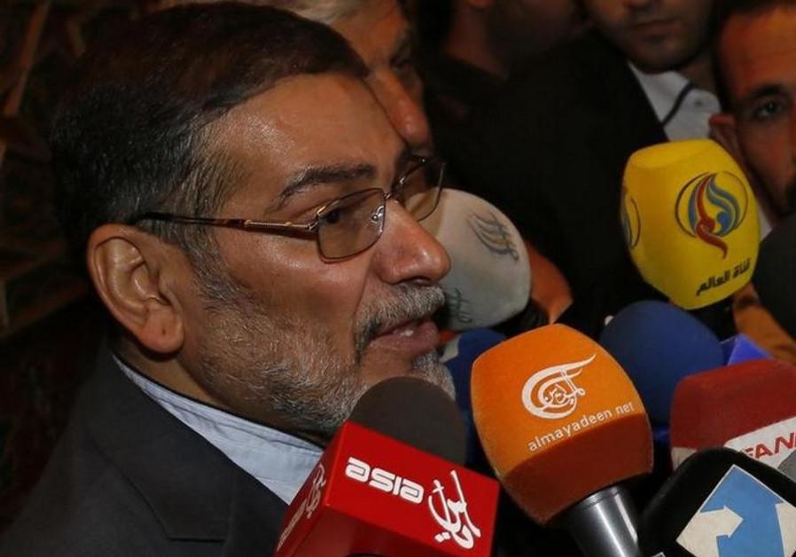 Ali Shamkhani, the secretary of Iran's Supreme National Council