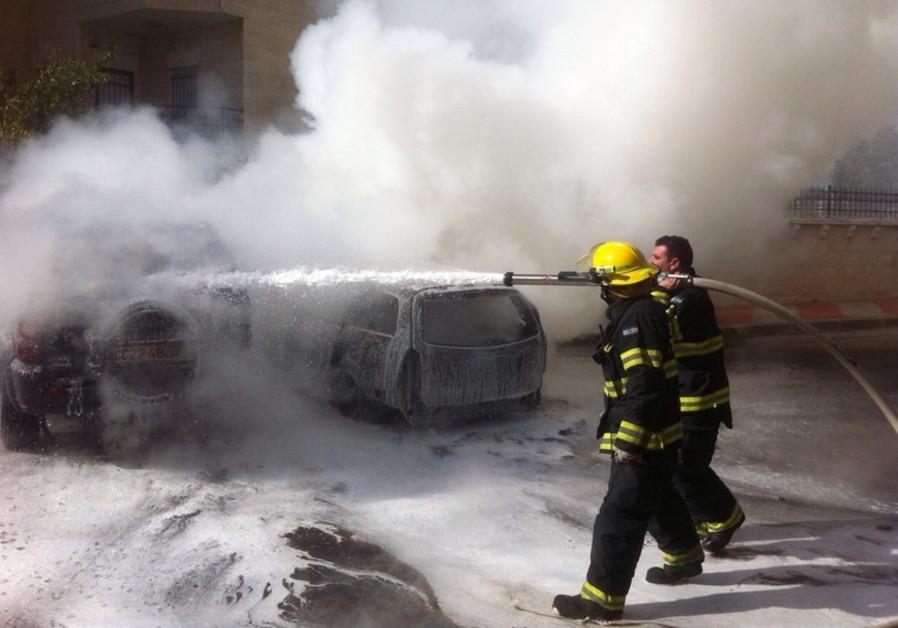 Jerusalem firefighters