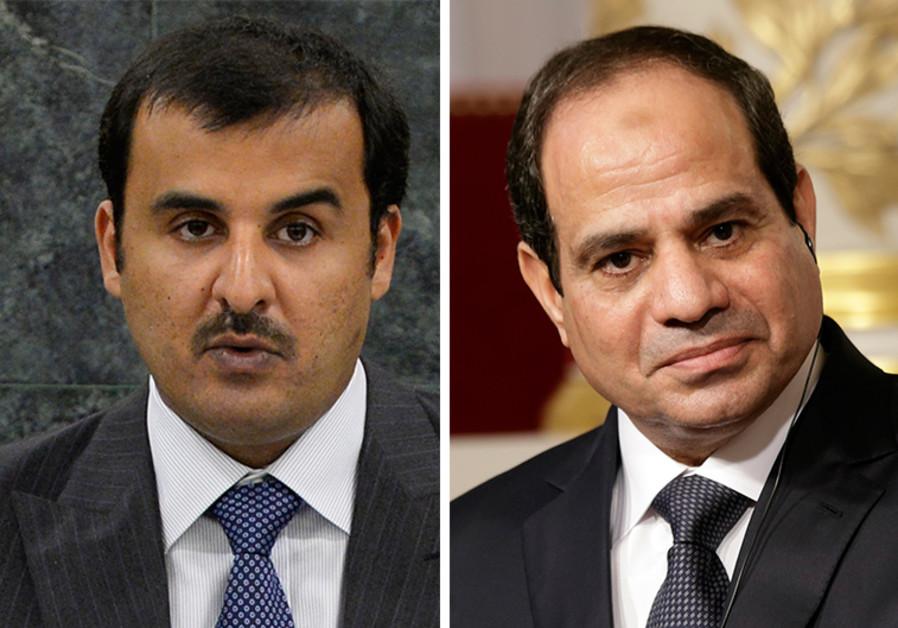 Al-Thani and Al-Sisi