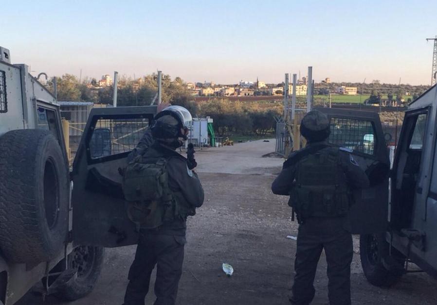 jenin border police