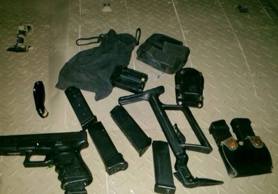 Weapons seized in Nablus by IDF
