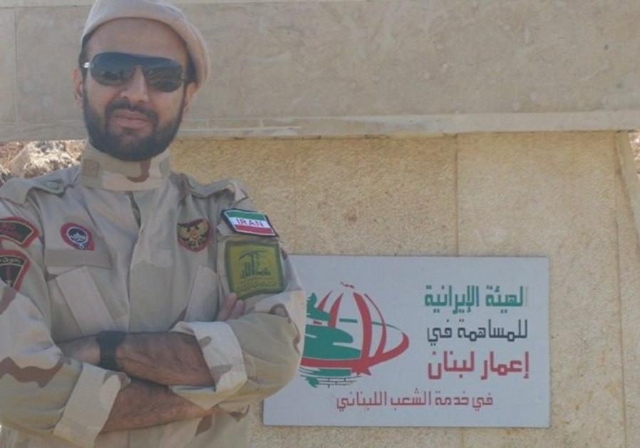 Iranian revolutionary guards soldier