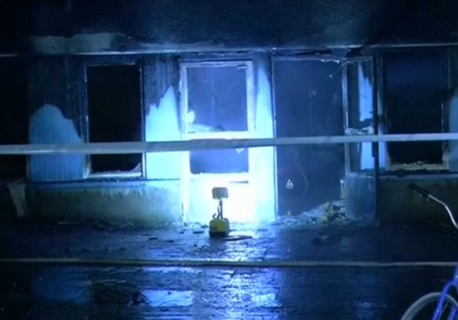 Swedish mosque arson