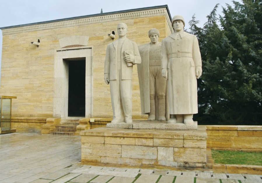 The Mausoleum of Atatürk