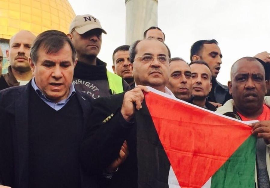 MK Ahmad Tibi on Temple Mount