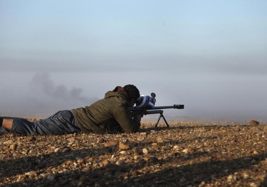 kurds fighting isis