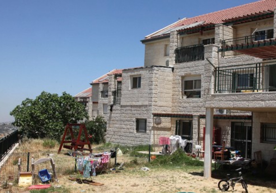 Homes in the Beit El settlement, West Bank