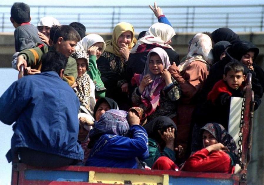 Lebanese women and children