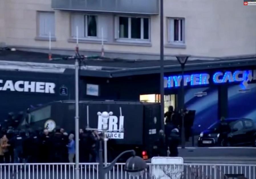 kosher supermarket in Paris