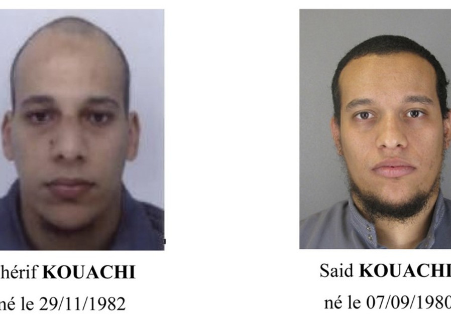 Cherif Kouachi (L) and Said Kouachi