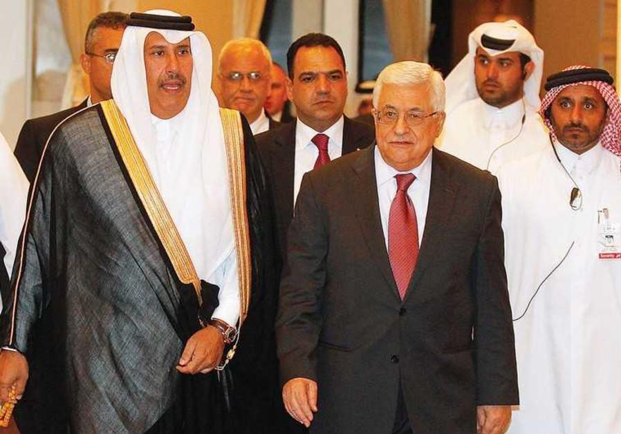 PA PRESIDENT Mahmoud Abbas in Doha