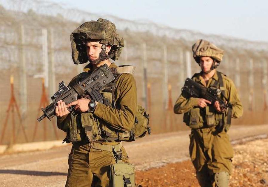 Israeli soldiers.