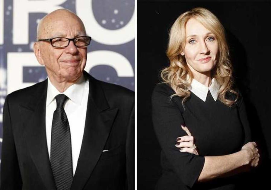 J.K. Rowling Rupert Murdoch
