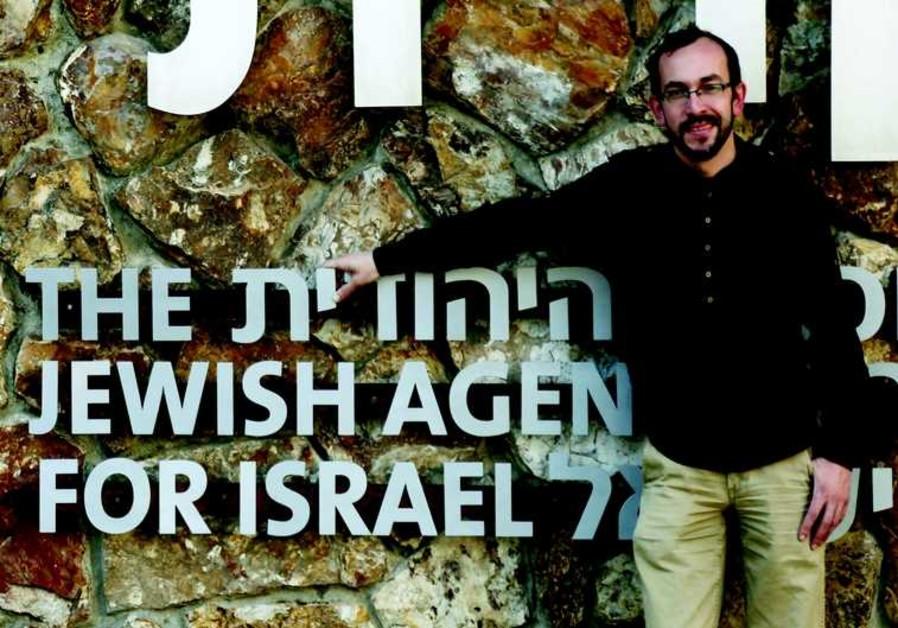 Eliezer Lesovoy est envoyé par l'Agence juive à travers le monde pour rencontrer les jeunes russopho