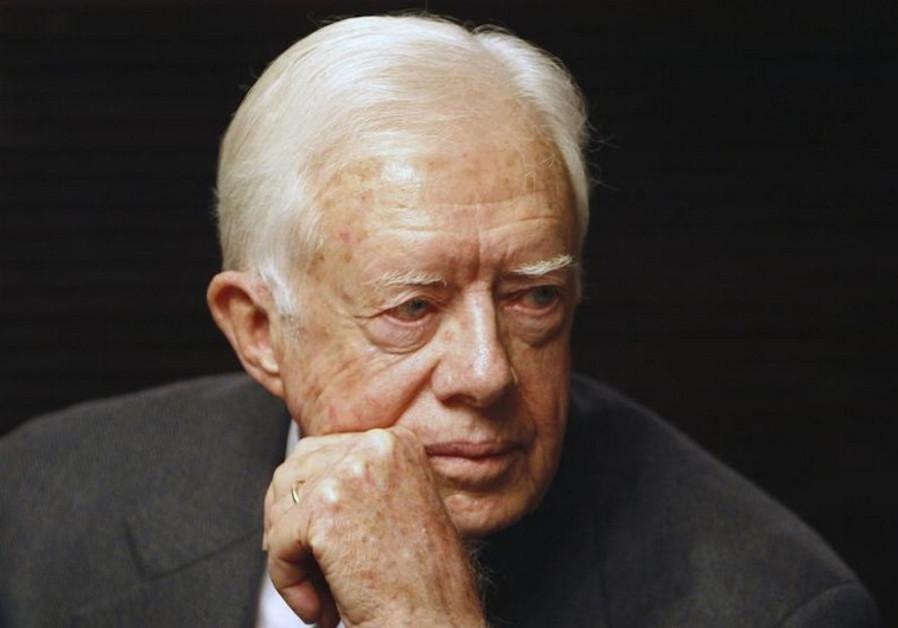 Former US president Jimmy Carter