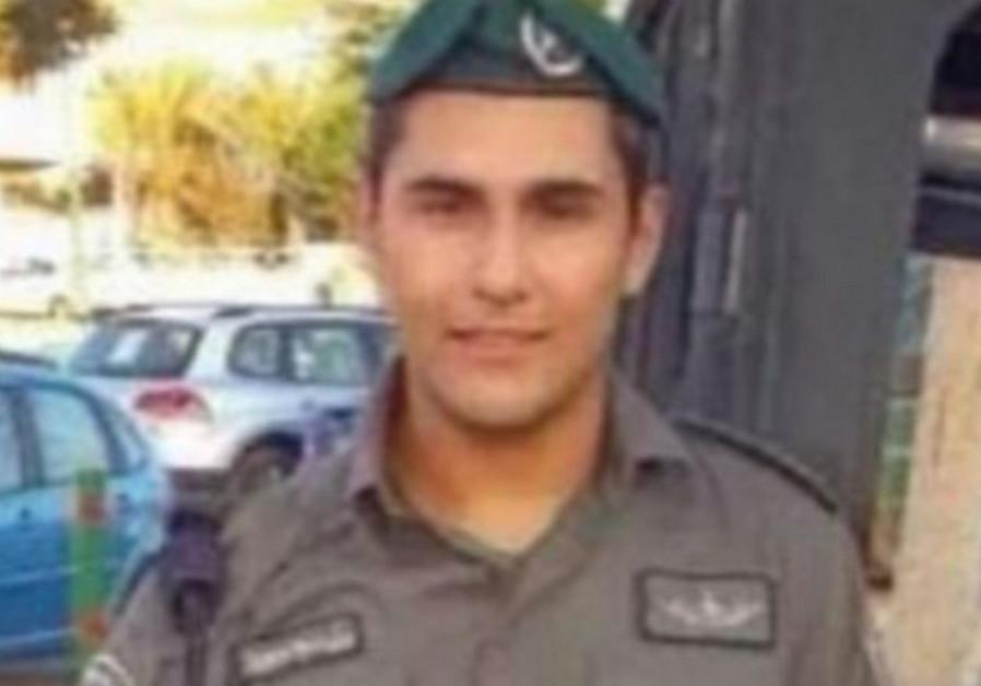 Border police Sgt. Avi Gronov