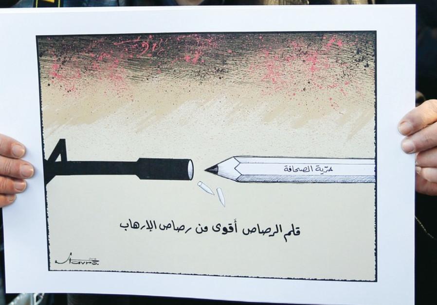 Lebanese caricaturist Stavro Jabra