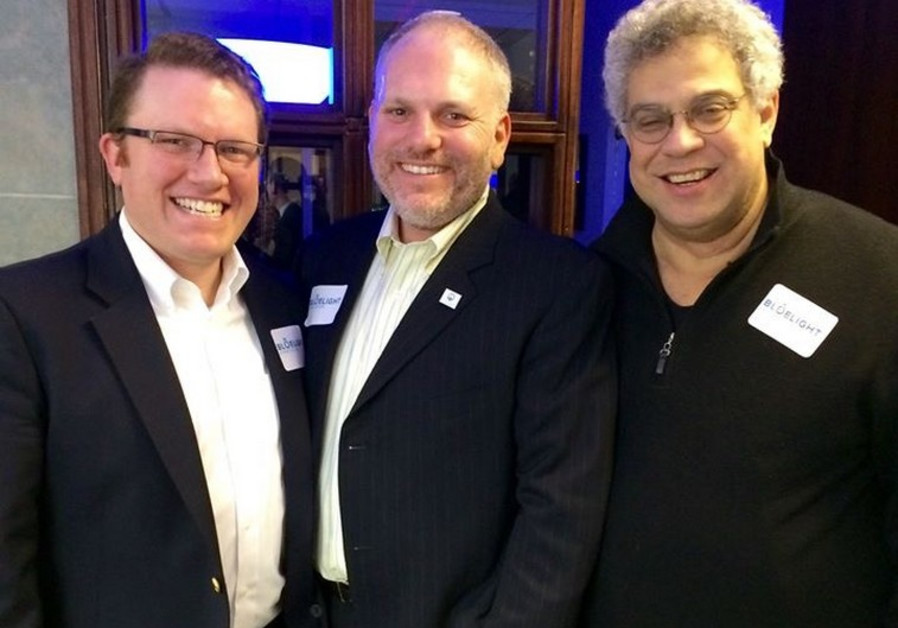 From left to right, Aaron Keyak, JFNA's William Daroff and Steve Rabinowitz