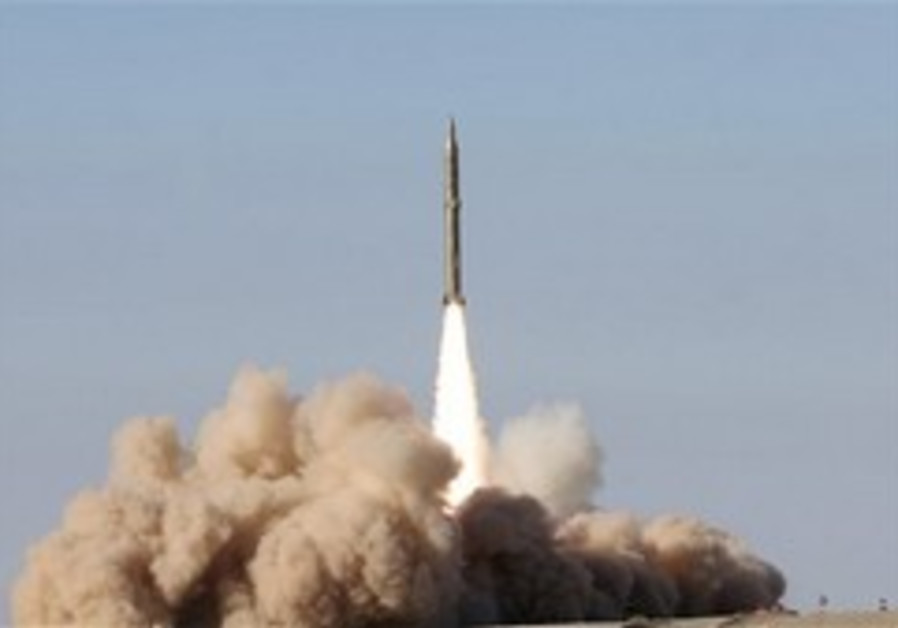 Iran reportedly test-fires new missile