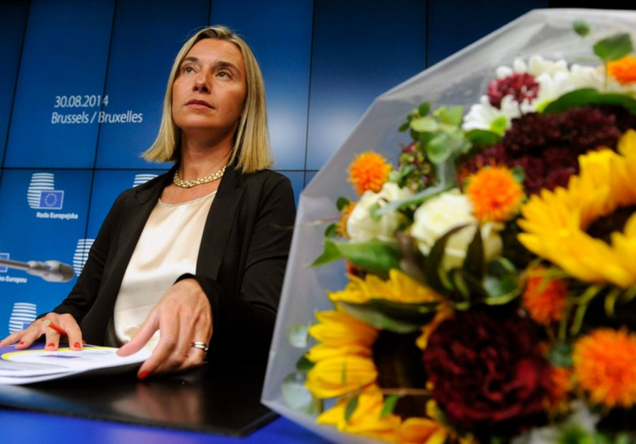 European High Representative for Foreign Affairs Federica Mogherini