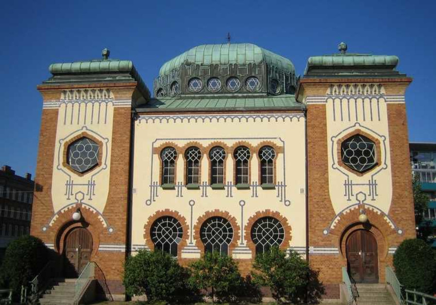 Malmo synagogue in Sweden.