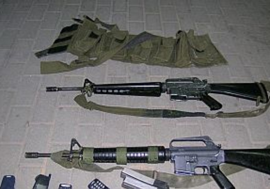 Soldier held for supplying terrorists