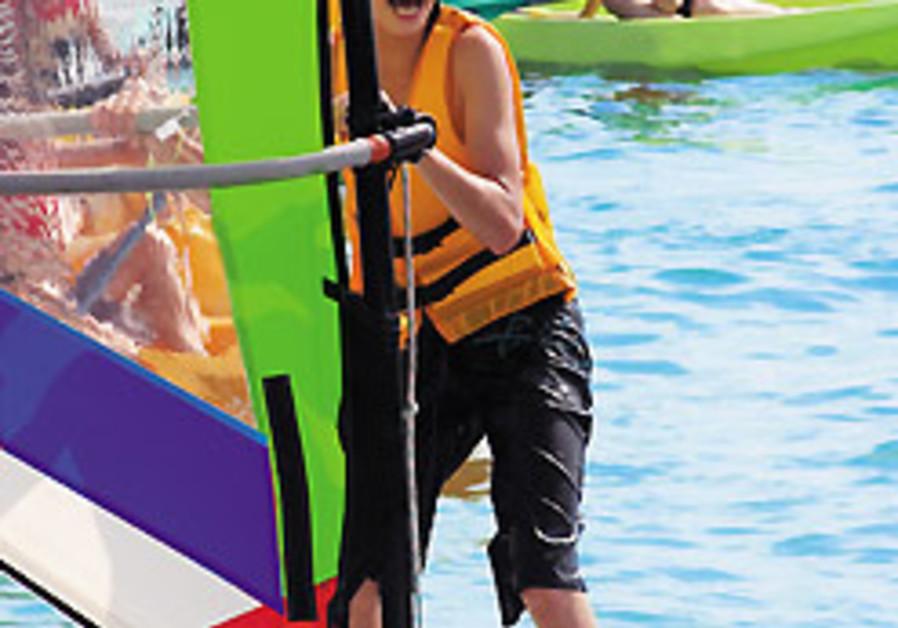 Intense day for Israelis at Euro Windsurfing Championships