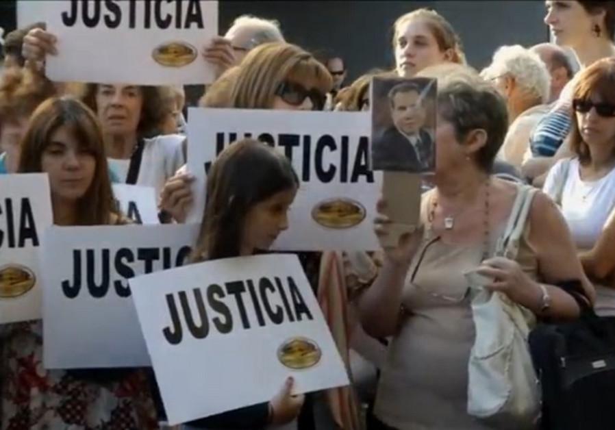 argentina iran protest