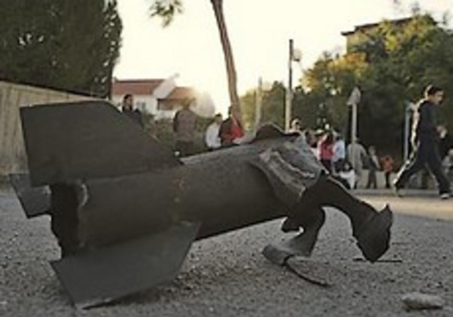 Rocket hits Hapoel Ashkelon stadium just before training