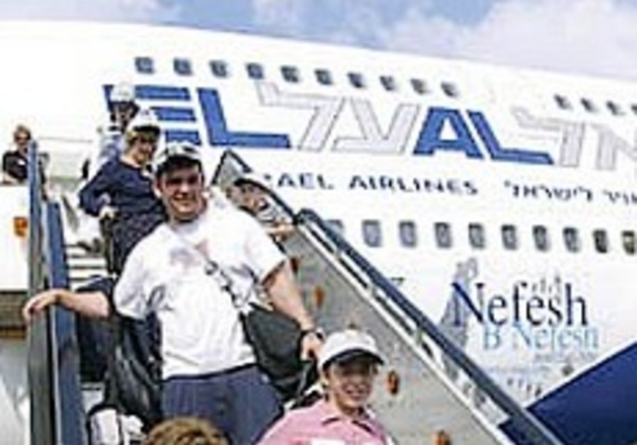 Planeload of Latin American olim arrives for first time since 2000