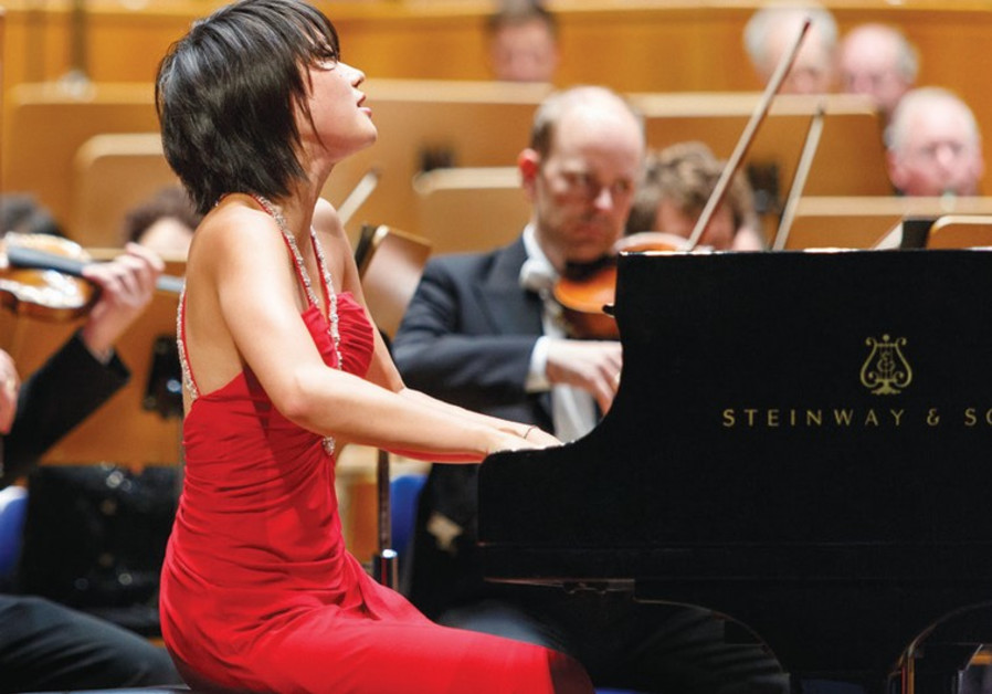 CHINESE PIANIST Yuja Wang