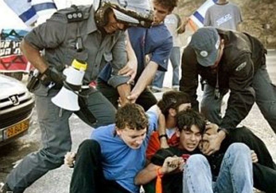roadblocking youth, police 298
